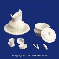 Dollhouse Victorian Chamber Set (Kit) - Product Image