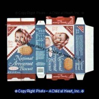 (*) Vintage Baby Cookie Box (Kit) - Product Image