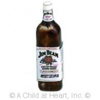 (*) Dollhouse Jim Bean Kentucky Bourbon Bottle - Product Image