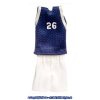 Basketball Outfit in Navy - Product Image