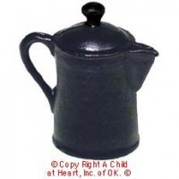 § Sale - Dollhouse Stovetop Coffeepot - Product Image