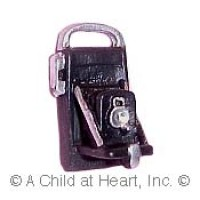 (§) Sale - Dollhouse Vintage Styled Polaroid Camera - Product Image