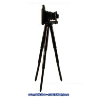 (§) Sale $1 Off - Dollhouse Portrait Camera w/Tripod - Product Image