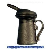 (§) Sale - Dollhouse Vintage Style Oil Can - Product Image