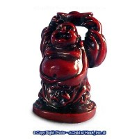 (§) Disc .30¢ Off - Rosewood Finished Buddha - Product Image