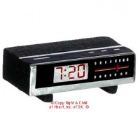 § Sale .50¢ Off - Dollhouse Clock Radio - Product Image