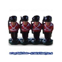 (*) Unfinished Dollhouse Toy Soldiers - Product Image