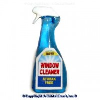 § Sale .40¢ Off - Dollhouse Window Cleaner Spray Bottle - Product Image