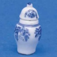 § Disc .70¢ Off - Dollhouse Floral Design Jar - Product Image