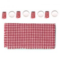 (§) Disc .30¢ Off - Dollhouse Picnic Table Set - Product Image