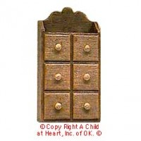 § Sale .50¢ Off - Dollhouse Chrysnbon Spice Rack - Product Image
