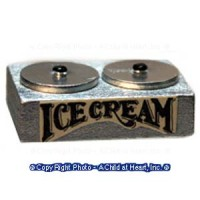 (§) Sale $1 Off - Dollhouse Store Ice Cream Container - Product Image