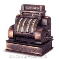 Dollhouse Miniature Vintage Cash Register - Product Image