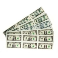 § Sale .30¢ Off - Sheet of Modern American Money - Product Image