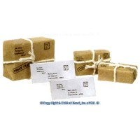 6 pc Parcel Post Packages & Letters - Product Image