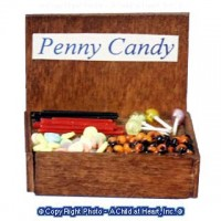 Sale $1 Off - Vintage Penny Candy Display - Product Image