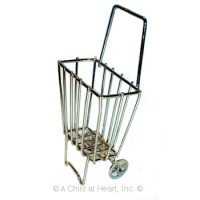 § Disc .60¢ Off - Dollhouse Small Shopping Cart - Product Image