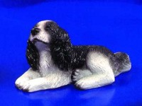 § Disc .60¢ Off - Dollhouse Welsh Springer Spaniel - Product Image