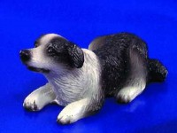 § Disc .70¢ Off - Dollhouse Border Collie - Product Image