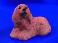 § Disc .60¢ Off - Dollhouse American Cocker Spaniel - Product Image