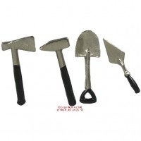 Dollhouse 4 pc Garden Hand Tools - Product Image