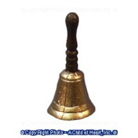 (§) Sale - Dollhouse Metal School Bell - Product Image
