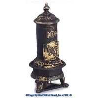 Dollhouse Porcelain Parlor Stove - Small - Product Image