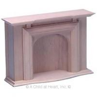 Dollhouse Unfinished Fireplace - Jamestown - Product Image