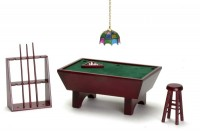 Dollhouse 24 pc Pool Table Set - Product Image