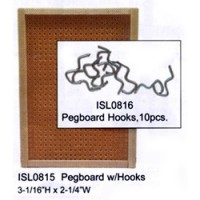 Dollhouse Pegboard with Hooks - Product Image