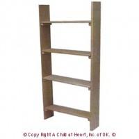 (§) Sale $2 Off - Unfinished Shop Shelf - Product Image