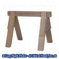 § Sale $2 Off - Single Dollhouse Sawhorse - Product Image