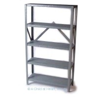 Dollhouse Tall Garage Shelf - Product Image