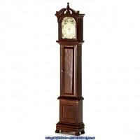 (§) Sale $4 Off - Dollhouse Walnut Grandfather Clock - Product Image