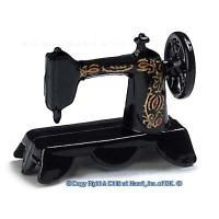 Dollhouse Old Fashion Sewing Machine - Product Image