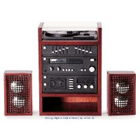 Dollhouse Stereo with Speakers - Product Image