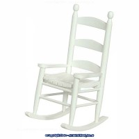 Dollhouse Ladder Back Rocker(Choice of Finishes) - Product Image