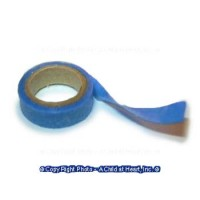 § Sale .50¢ Off - Dollhouse Roll of Blue Masking Tape - Product Image