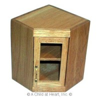 § Disc $2 Off - Dollhouse Corner Upper Cabinet - Product Image