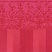 § Disc $3 Off - 3 Shts Red Vienna Wallpaper - Product Image