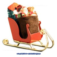 § Disc $10 Off - Filled Dollhouse Christmas Sleigh - Product Image