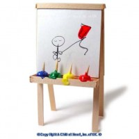 Finger Paints and Easel - Product Image