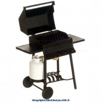(§) Sale $4 Off - Barbecue Grill w/Propane Bottle - Product Image