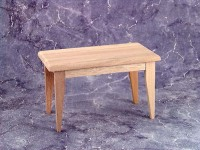 Unfinished Dollhouse Kitchen Table - Product Image