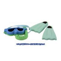 Dollhouse Swim Fins & Mask Set - Product Image