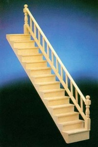 (§) Sale $10 Off - Dollhouse Straight Staircase - Product Image