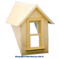 Sale $12 Off - Dormer with Working Window - Product Image