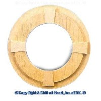 Circle Window with Trim - Product Image