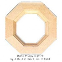 § Sale $1.50 Off - Dollhouse Octagon Window - Product Image