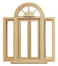 Circlehead Double Casement Window - Product Image